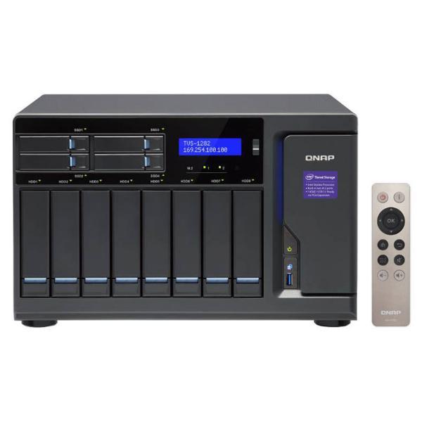 QNAP TVS-1282 i3 8GB – Servidor NAS