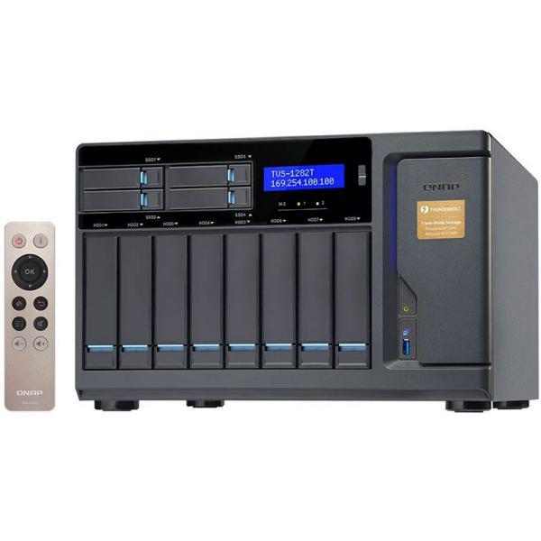 QNAP TVS1282T i5 16GB Thunderbolt 2  Servidor NAS