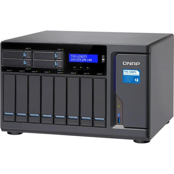 QNAP TVS-1282T3 i5 16GB Thunderbolt 3 – Servidor NAS