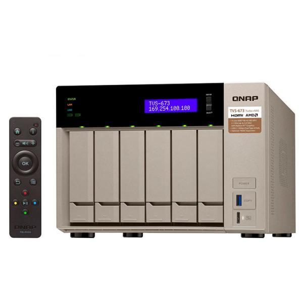 QNAP TVS-673 8GB – Servidor NAS