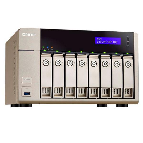 QNAP TVS-863+ 8GB – NAS