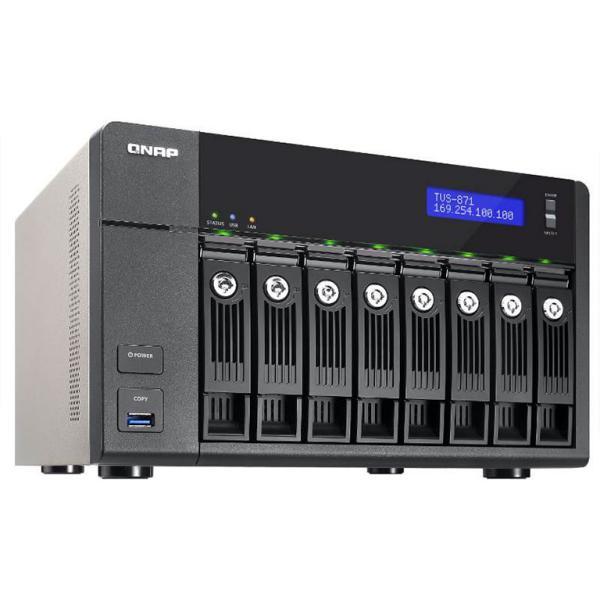 QNAP TVS-871 i7 16GB – Servidor NAS
