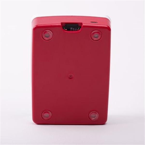 Raspberry Pi 4 Caja rojo blanco  Caja