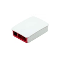 Caja RASPBERRY PI 3 B Blanca y Roja  Accesorio
