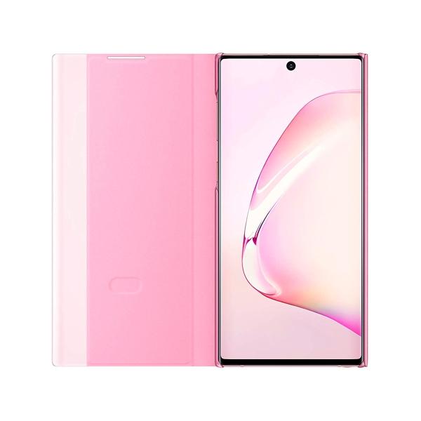 Samsung Clear View Rosa para Galaxy Note10  Funda
