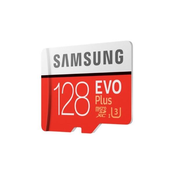 Samsung EVO PLUS 128GB MicroSD Clase 10 – Memoria Flash