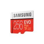 Samsung EVO PLUS 256GB MicroSD Clase 10 – Memoria Flash