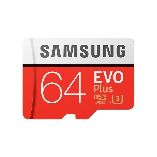 Samsung EVO Plus 64GB MicroSDHC Clase 10 - Memoria Flash