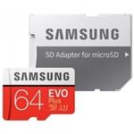 Samsung EVO PLUS 64GB MicroSD Clase 10 - Memoria Flash