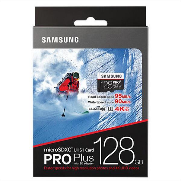 Samsung Pro+ 128GB – Memoria MicroSD