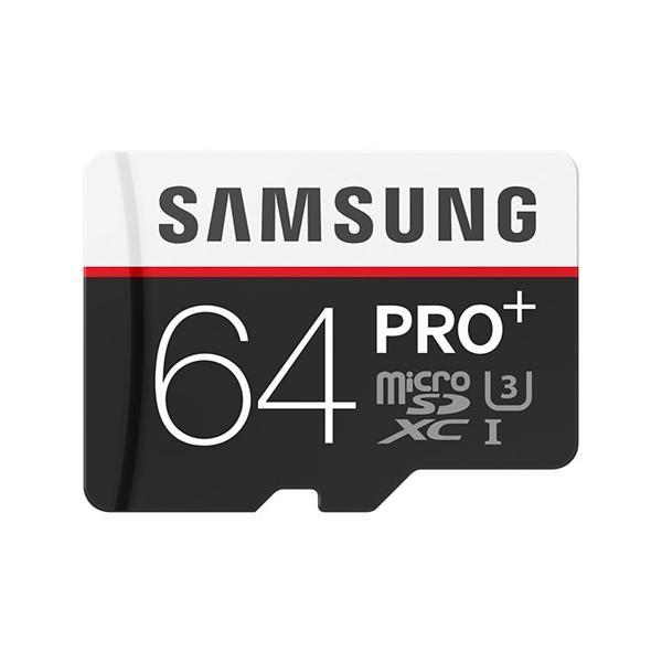 Samsung Pro+ 64GB MicroSDHC Clase 10 – Memoria Flash