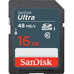 SanDisk Ultra 16GB 48MB/s - Tarjeta SD