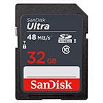 SanDisk Ultra 32GB 48MB/s - Tarjeta SD