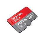 SanDisk Ultra Android 400GB 100MB/s c/Adap - Tarjeta MicroSD
