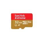 SanDisk Extreme 32GB 100MBs 60MBs cadap  Tarjeta microSD