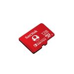 SanDisk Micro SD 128GB para Nintendo Switch Mario - Memoria