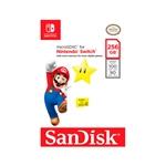 SanDisk Micro SD 256GB para Nintendo Switch Star  Memoria