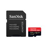 SanDisk Extreme Pro 64GB 170MBs cAdap  Soft  MicroSD