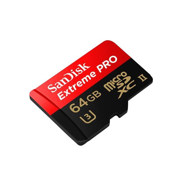 SanDisk Extreme Pro 64GB 275MBs  USB3  Tarjeta microSD