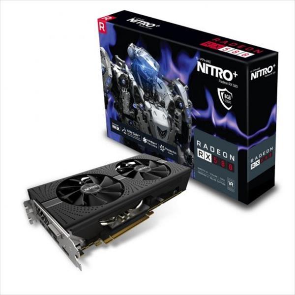 Sapphire AMD Radeon RX580 NITRO+ 8GB – Gráfica