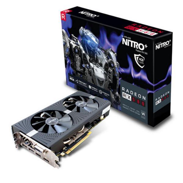 Sapphire Nitro+ Radeon RX 580 4GB – Gráfica