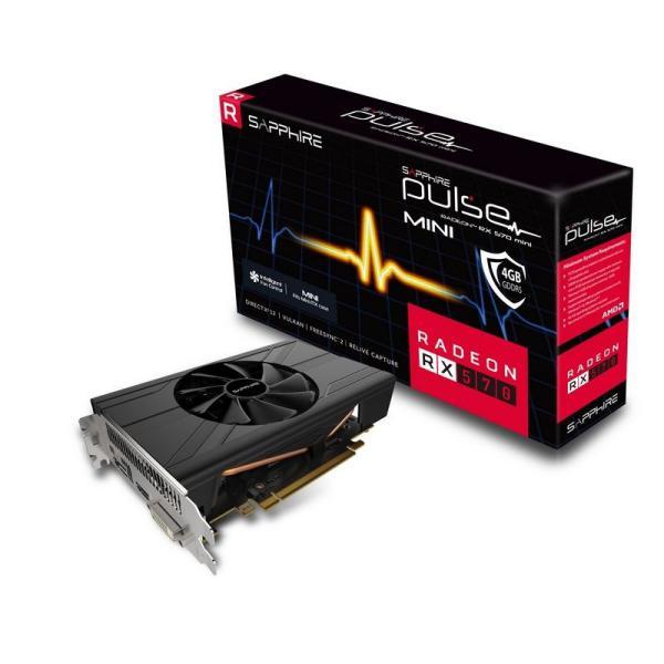 Sapphire Pulse Radeon RX 570 Mini 4GB  Grfica