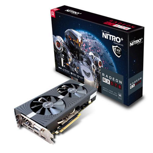 Sapphire Nitro+ Radeon RX 570 4GB – Tarjeta gráfica