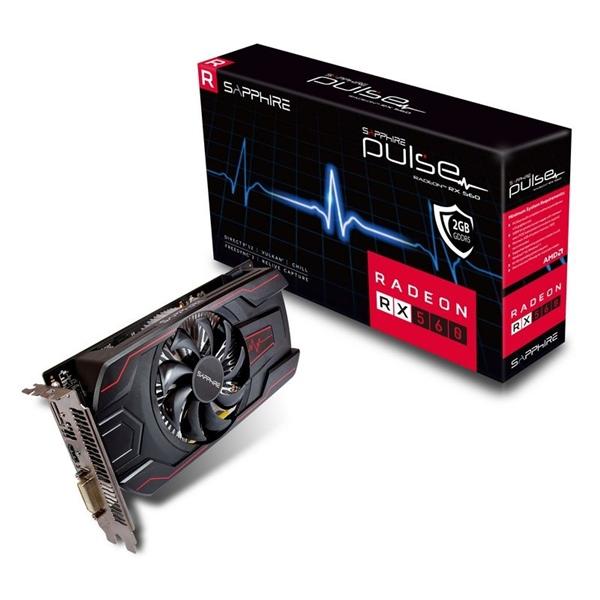 Sapphire Radeon RX560 4GB – Gráfica