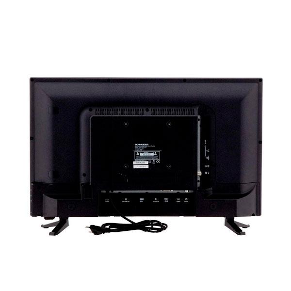 Schneider RAINBOW 24 LED HD USB HDMI Negro  TV