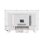 Schneider RAINBOW 24 LED HD USB HDMI Blanco  TV