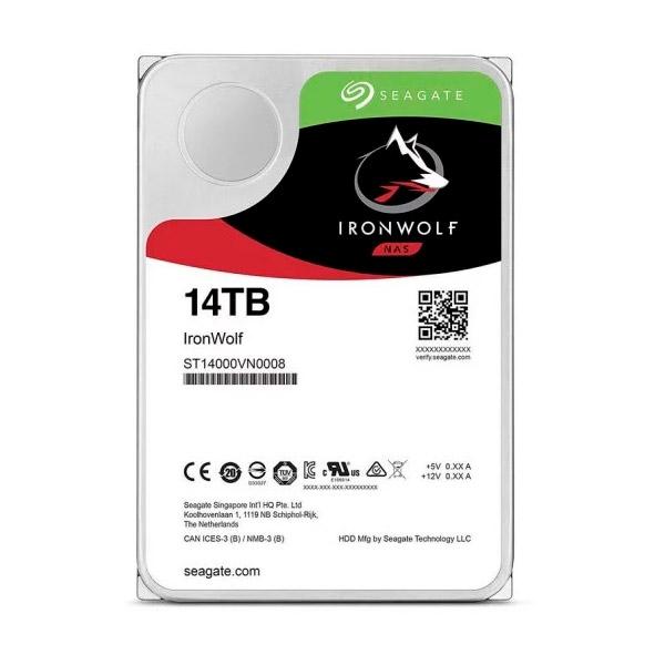 Seagate IronWolf Pro 14TB 35 72K SATA  Disco Duro