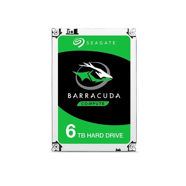 Seagate BarraCuda 6TB 35 256MB SATA  Disco Duro