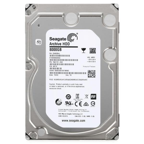 Seagate Archive 8TB 64MB  3.5″ – Disco Duro