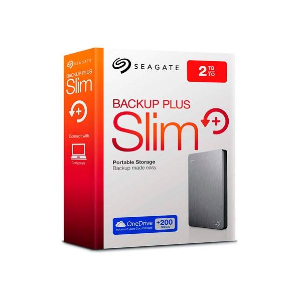 "Seagate Backup Plus 3.5"" 2TB USB - Disco Duro Externo"