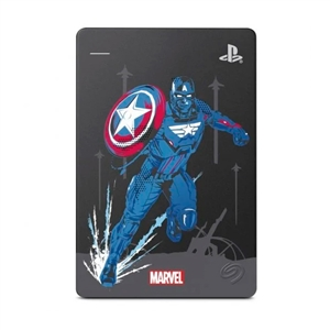 Seagate Game Drive HDD 2TB USB 30 Avengers Edition Capitn Amrica para PS4  Disco Duro Externo