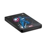 Seagate Game Drive HDD 2TB USB 30 Avengers Edition Capitán América para PS4  Disco Duro Externo