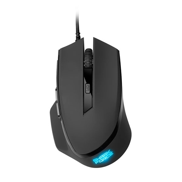 Sharkoon SHARK Force negro USB 1600 DPI – Ratón