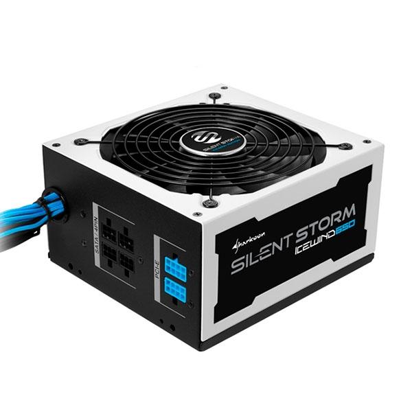 Sharkoon SilentStorm Icewind 650W 80Br negro blanco FA