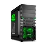 Sharkoon VG4W negra verde  Caja
