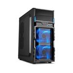 Sharkoon VG5V negra azul  Caja