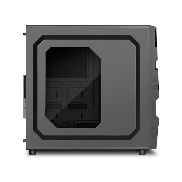 Sharkoon VG5W negra  Caja