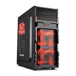 Sharkoon VG5W negra roja  Caja