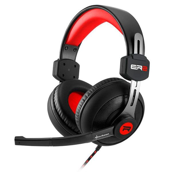 Sharkoon RUSH ER2 negro rojo – Auricular
