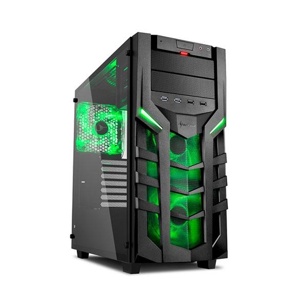 Sharkoon DG7000-G negra verde – Caja