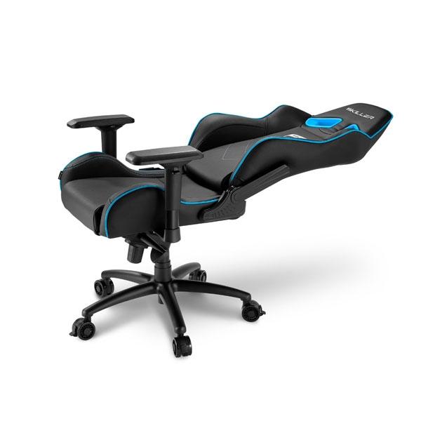 Sharkoon Skiller SGS3 negra azul  Silla