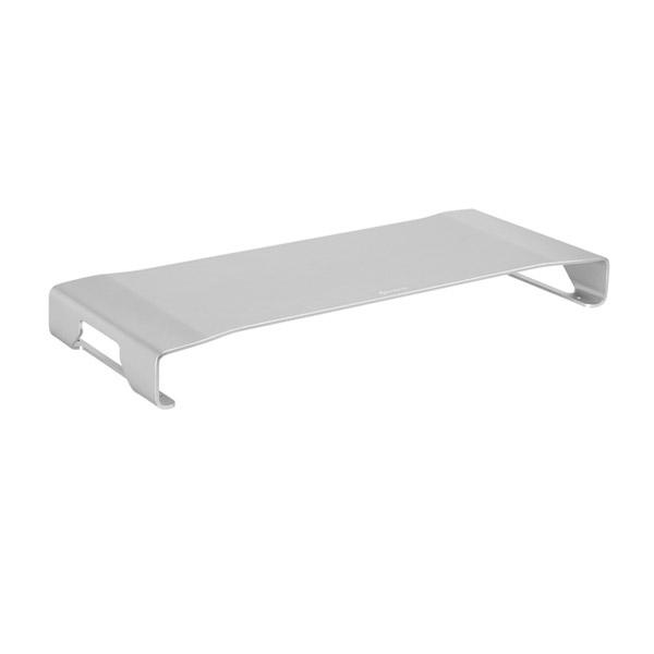 Sharkoon Aluminium Monitor Stand  Plata – Accesorio