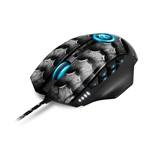 Sharkoon Drakonia II Black USB optico 15000 DPI - Ratón