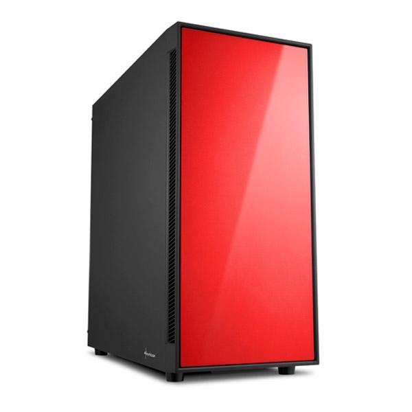 Sharkoon AM5 Silent negra rojo ATX - Caja