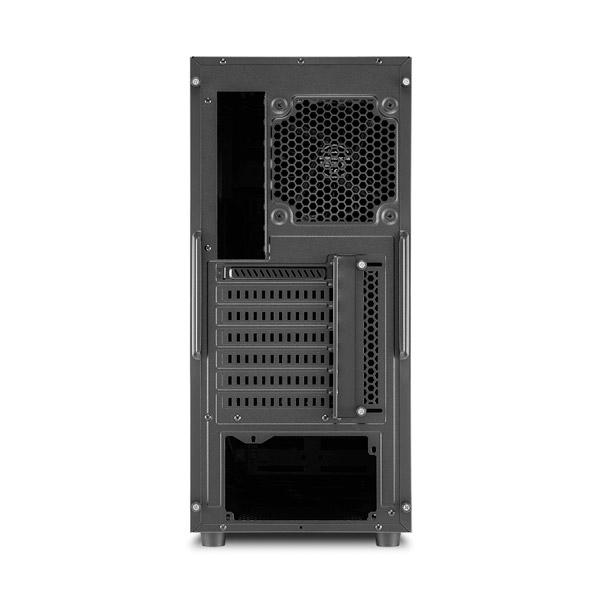 Sharkoon AM5 Silent negra azul ATX – Caja