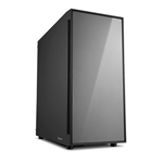 Sharkoon AM5 Silent negra gris ATX  Caja
